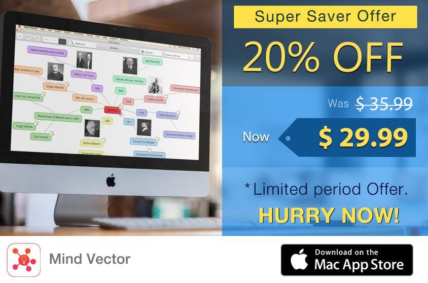 Mind Vector Mac at 20% off